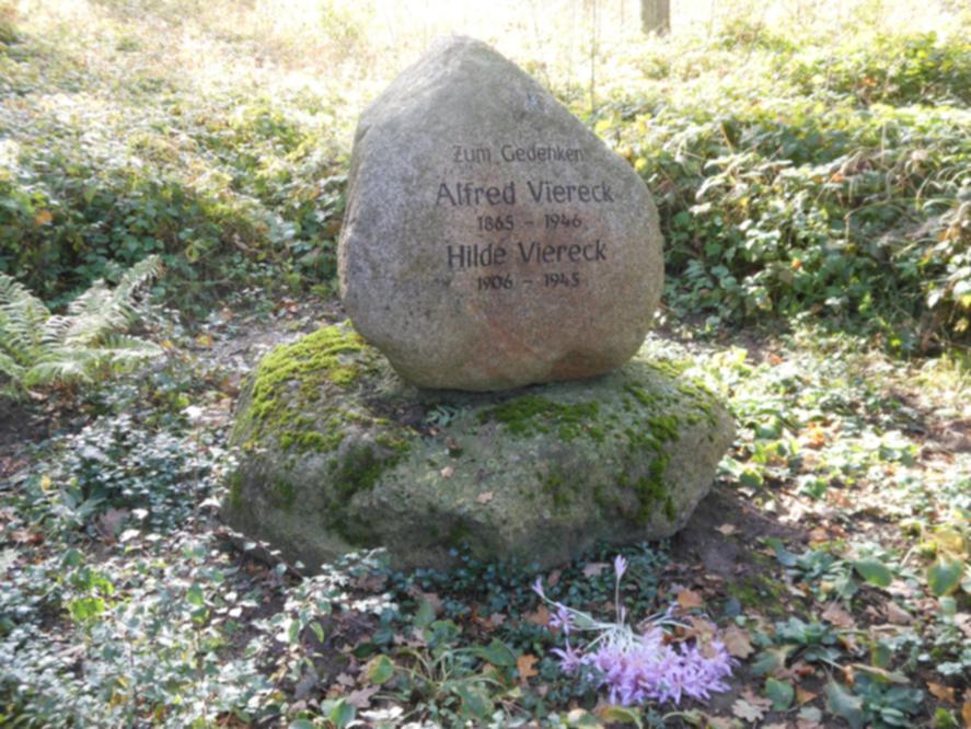 Gedenkstein in der Buschkoppel