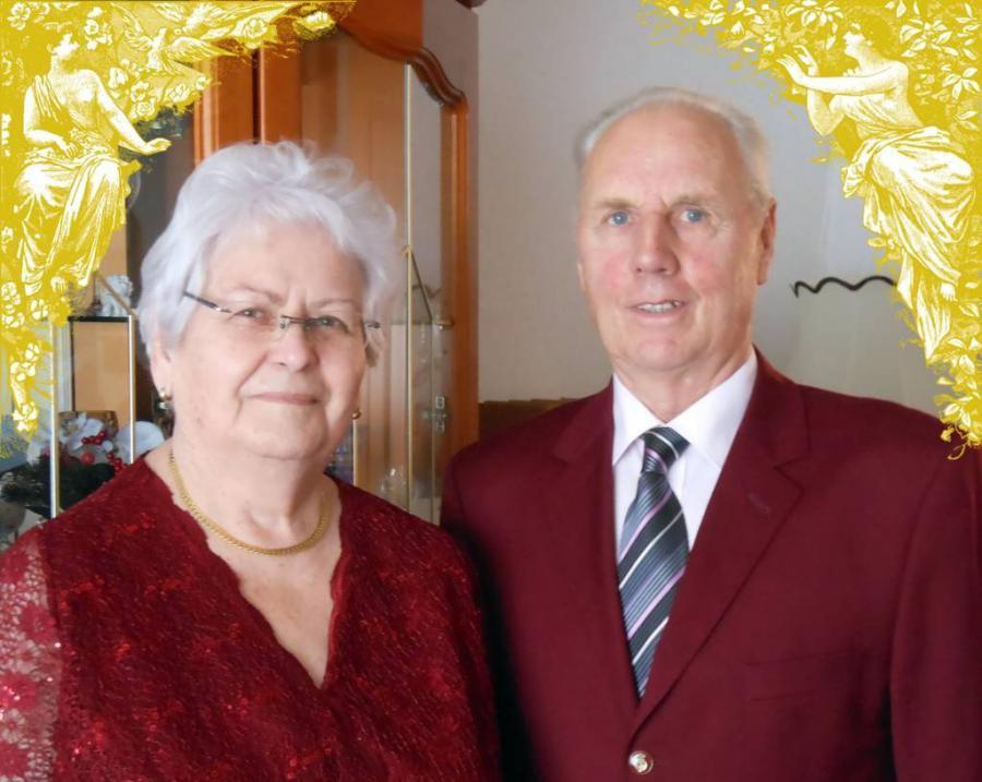 Am 30. Oktober 2015 feierten Brigitte und Fritz Gamm Goldene Hochzeit
