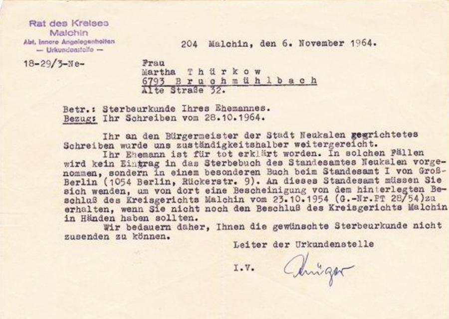 Nachforschung Carl Thürkow (2)