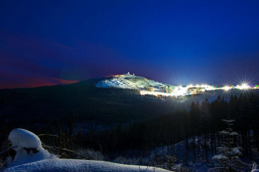 Skifahren am Großen Arber- Nachtskifahren