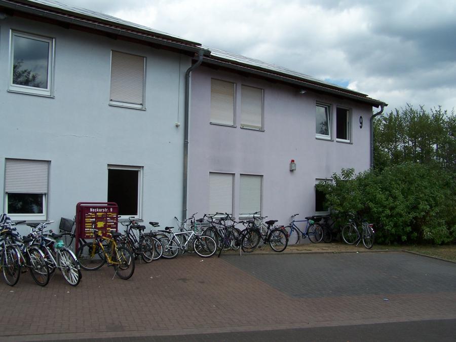 Unterkunft in der Neckarstraße im Stadtteil Dörnigheim