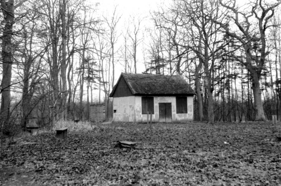 Schützenhaus im Gartsbruch, um 1955