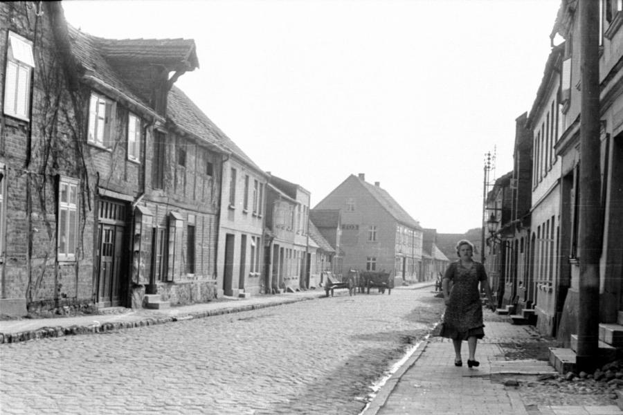 Rektorstraße, um 1955