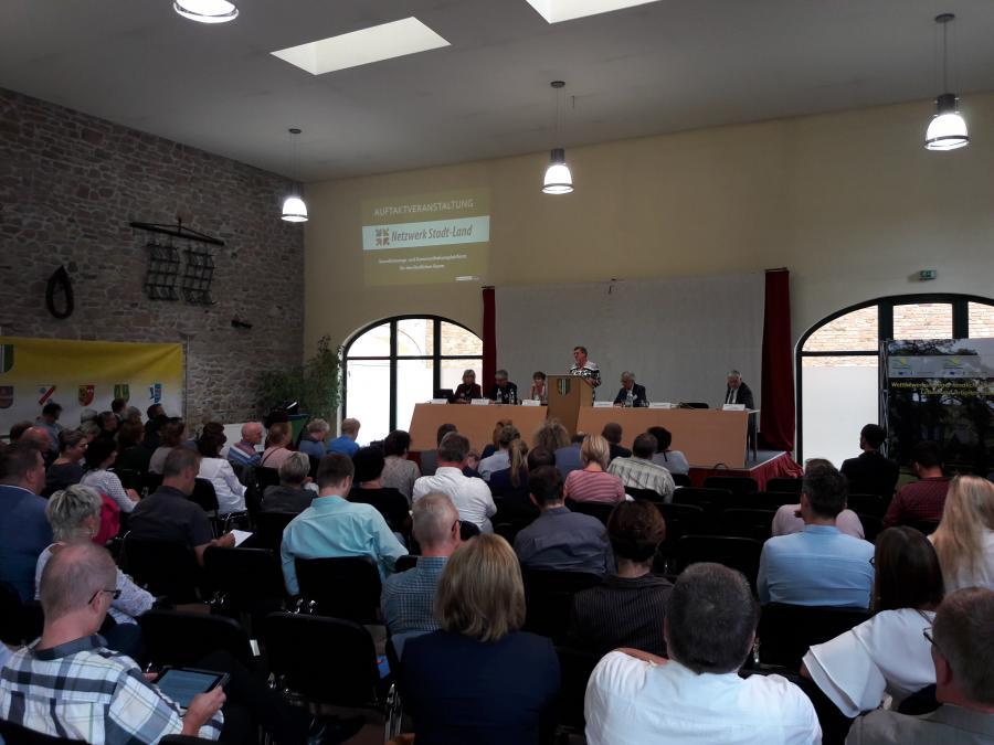 Auftaktveranstaltung Netzwerk Stadt-Land, Wellen 14.08.2018