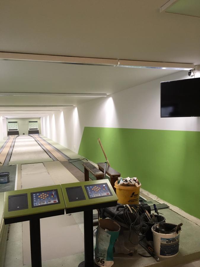 Neubau Kegelbahn 2019
