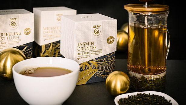Neue GEPA Teesorten