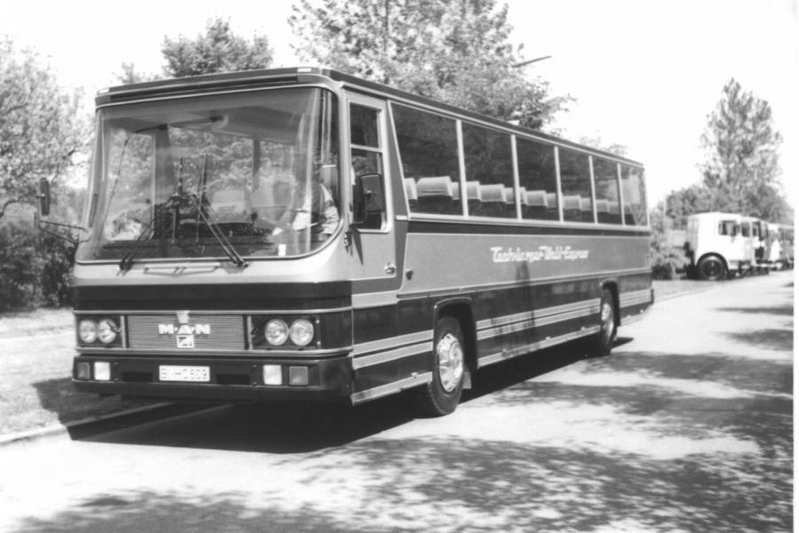 neuer MAN Reisebus 50-jähriges Jubiläum 1978