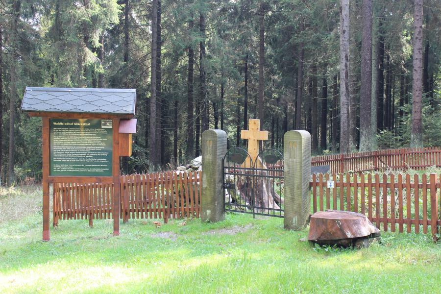 Glücksthal-Friedhof  bei Neuhaus am Rennweg