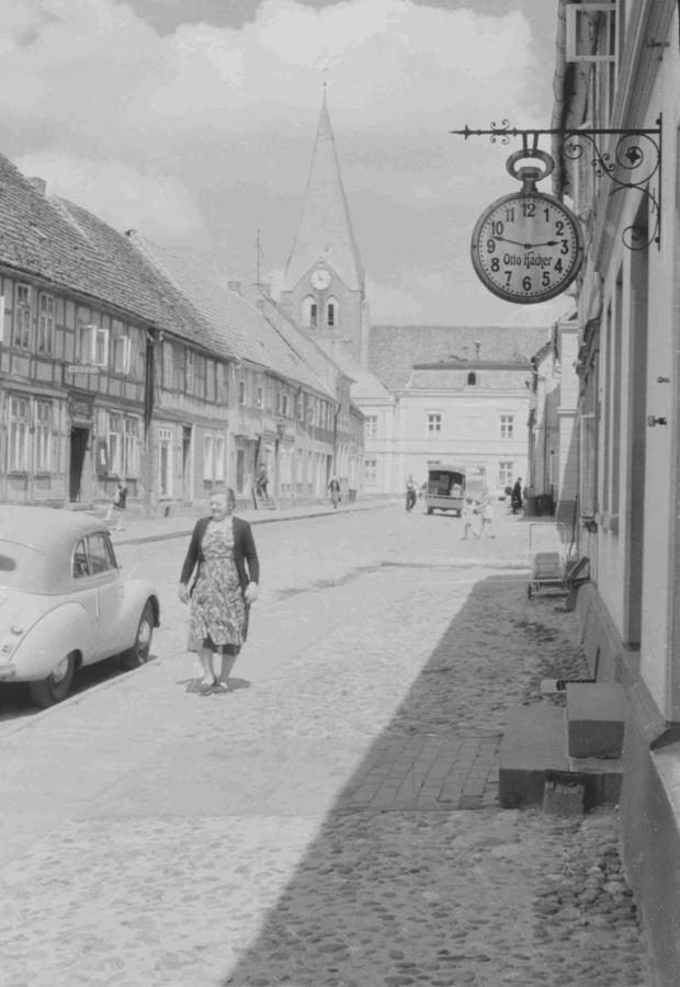Straße des Friedens, um 1960