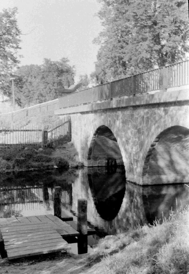 An der Peenebrücke, um 1960