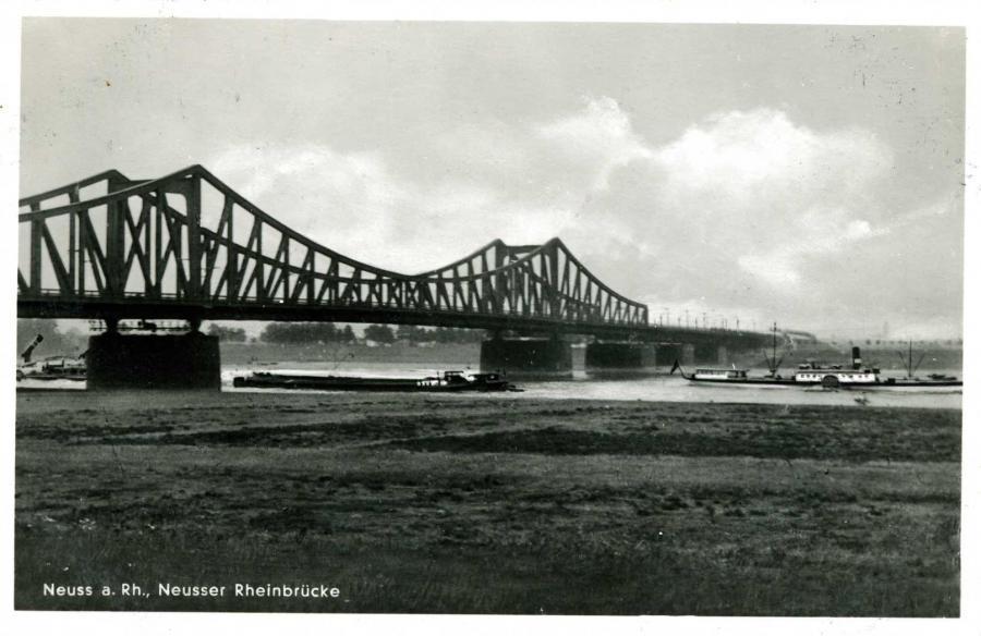 Neuss a. Rh. Neusser Rheinbrücke