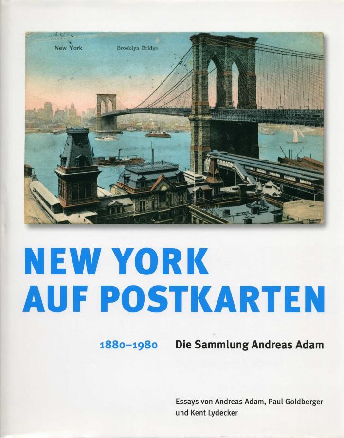 New York auf Postkarten