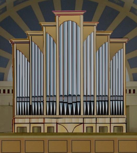 neue Orgel der St. Nicolai-Kirche, 2025 ?
