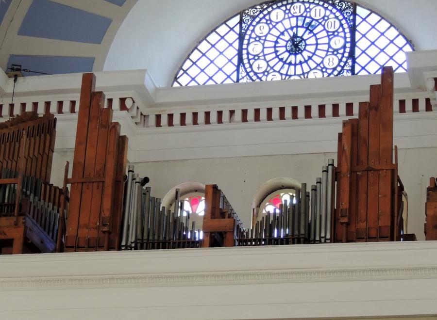 Orgel in der St. Nicolai-Kirche, 2012