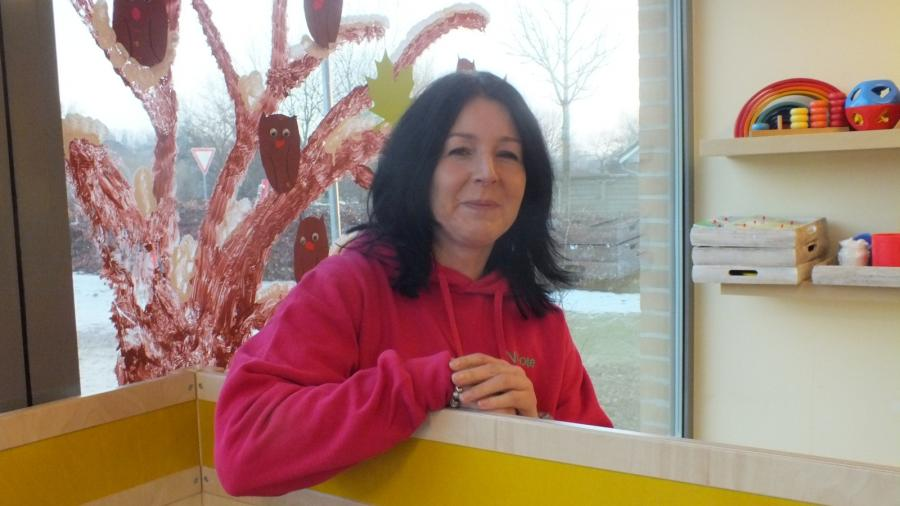 Nicole Otto, Leitung der Kita Treenestrolche und Gruppenleitung der Bibergruppe