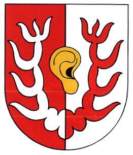 Das Wappen des Ortsteiles Niederspier.