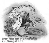 Der Nix im Hahnteich zu Burgstädt