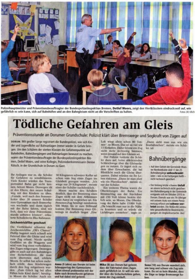 Nordseezeitung_14062016_Bahnsicherheit