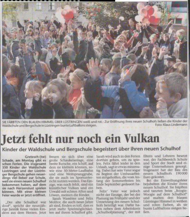 Pressemeldung: Waldschule