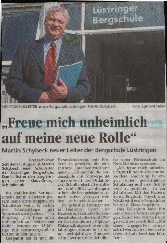 Pressemeldung: Leiter der Bergschule