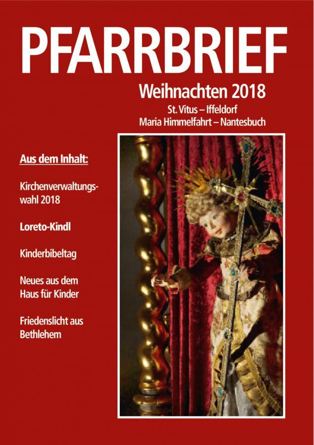 Weihnachstpfarrbrief 2018