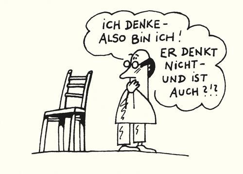 Cartoon von Frank Leuchte
