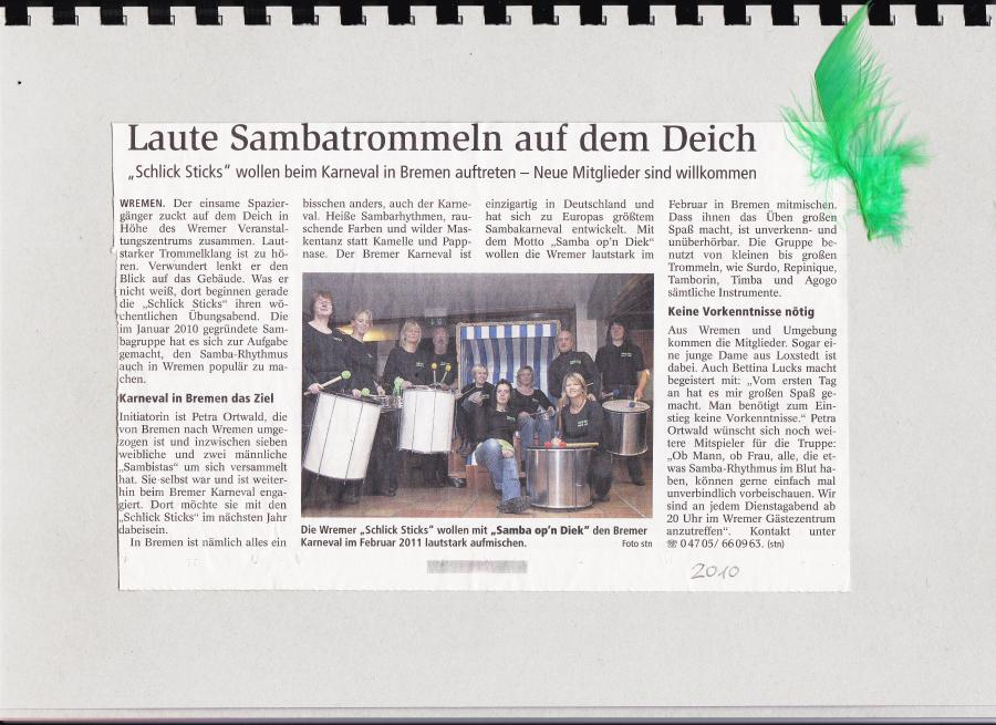 Nordsee-Zeitung 2010
