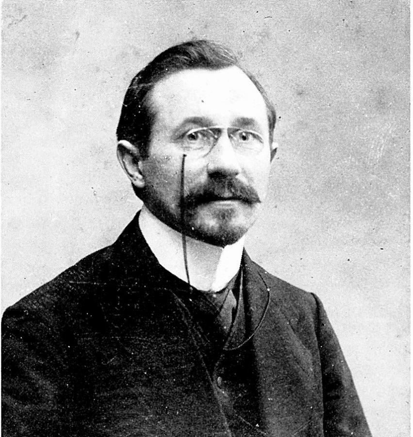 Pfarrer Oskar Hütteroth