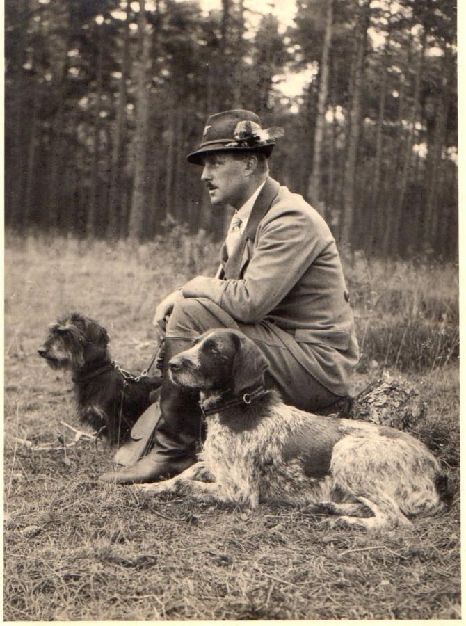 Forstmeister Walter Einfeldt, gefallen 18.09.1941
