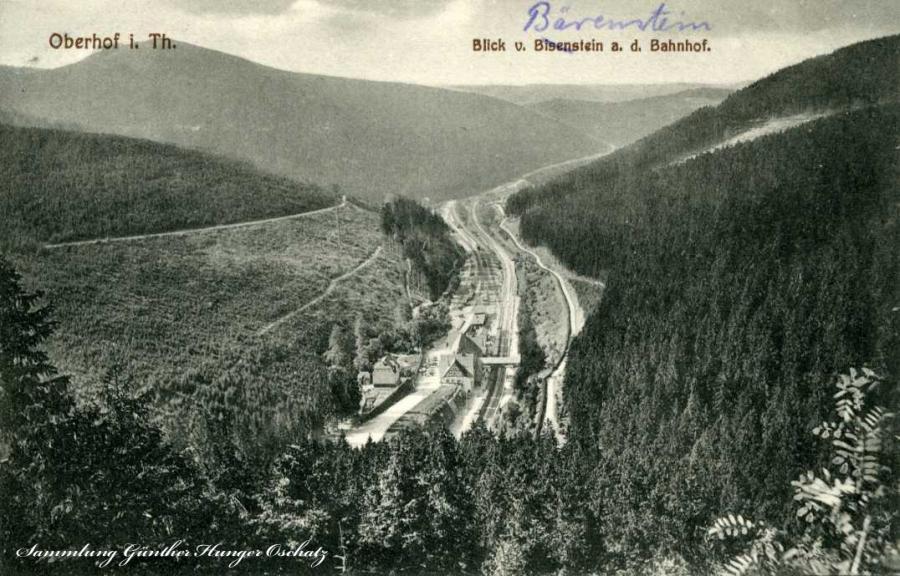 Oberhof i. Th. Blick v. Biesenstein