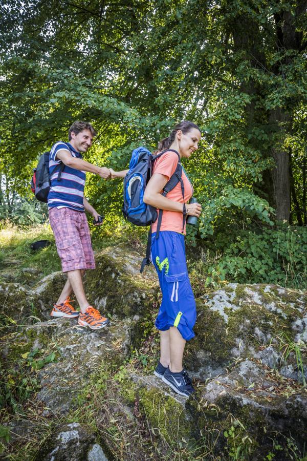 Wandern im Oberpfälzer Seenland; Quelle: Zweckverband Oberpfälzer Seenland