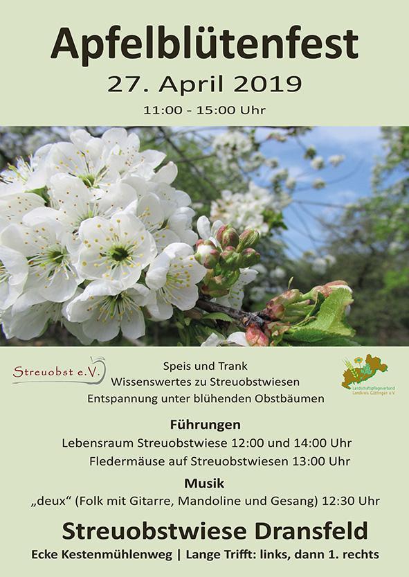 Obstblütenfest Dransfeld 27.4.2019