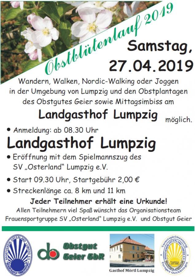 Obstblütenlauf 2019