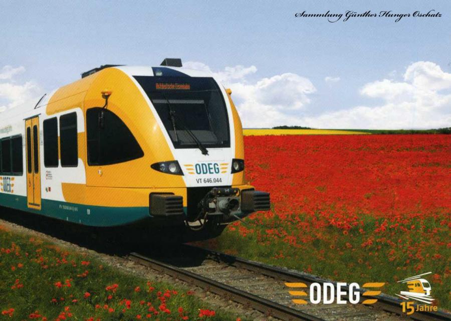 ODEG 15 Jahre Gelenktriebwagen GTW 2-6