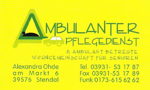 Ambulanter Pflegedienst Ohde