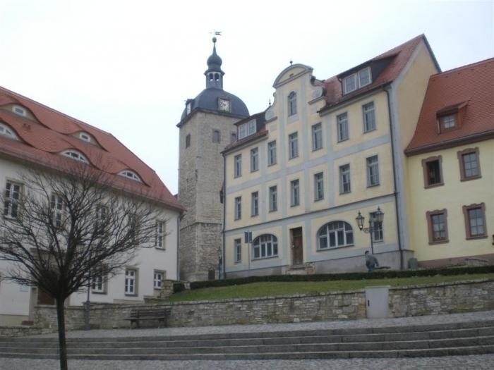 Blick zur Kirche St. Jakobi