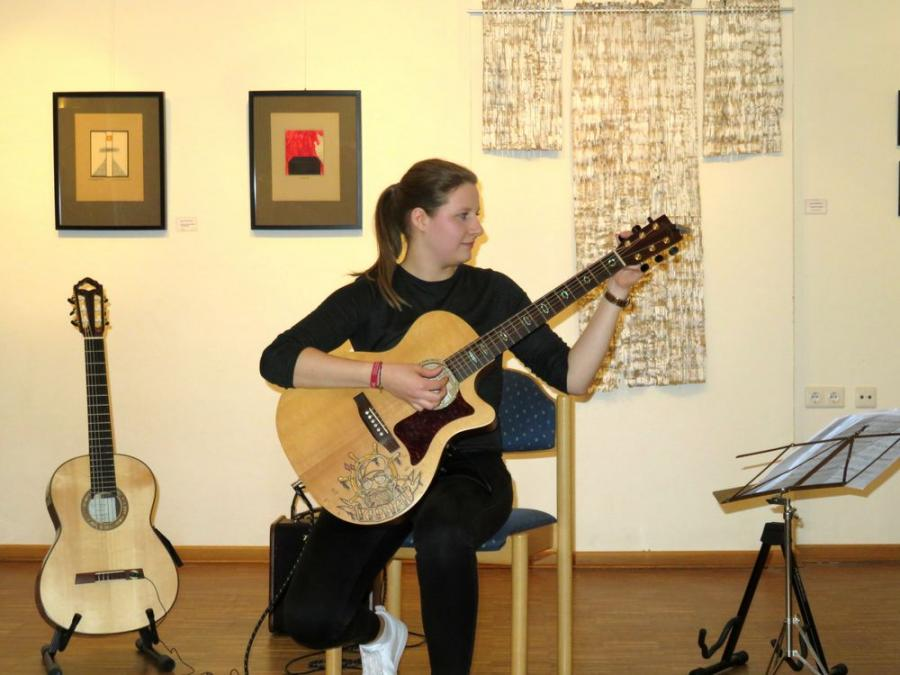 Ida-Anna Thiele, Gitarre