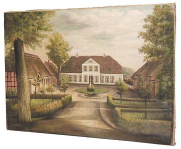 Oelbild im Museum Altona