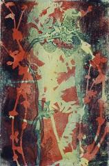Metamorphose 2 VII, Monotypie auf Büttenpapier