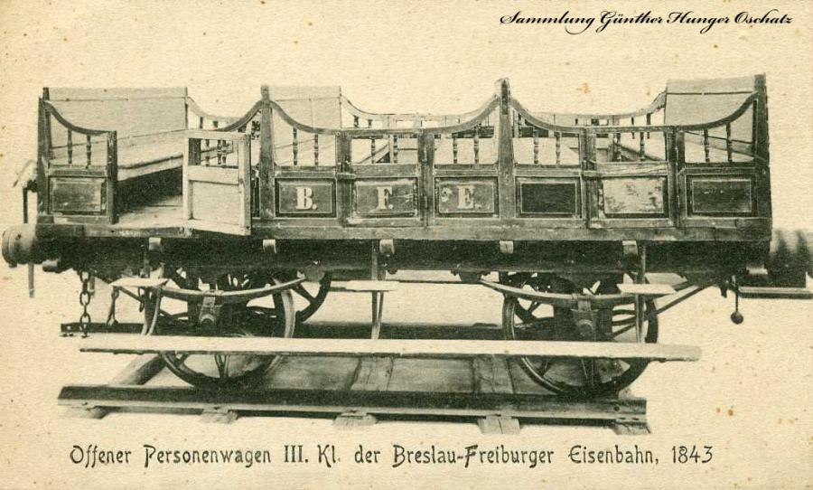 Offener Personenwagen IIl. Kl.