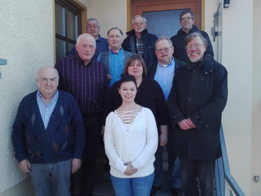 Von oben links: Dieter Hochreuther, Rainer Vogel, Alexander Ili, Gerhard Trapper, Nikic Milenko, Klaus Adelt, Gerhard Stinzing, Werner Leichauer, Birgit Rauch, Sarah Ili, Martina Ili, Jasmin Ili