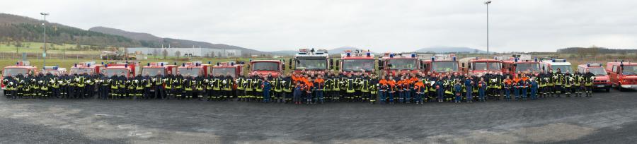 Feuerwehren Grabfeld, fotografiert von Andreas Dömming