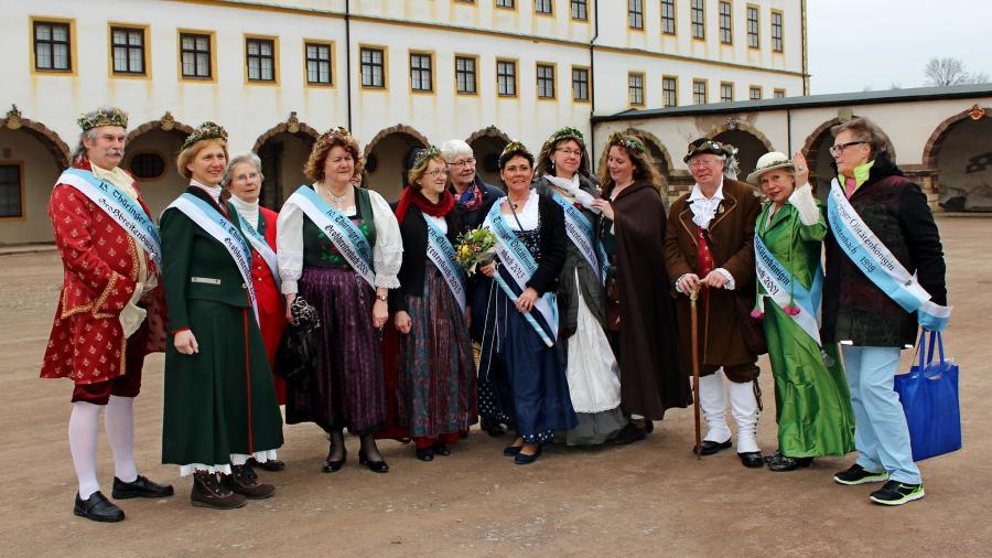 Olitätenmajestäten-Treffen, Gotha 13.3.2016