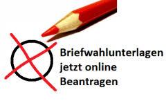Online Wahlscheinantrag