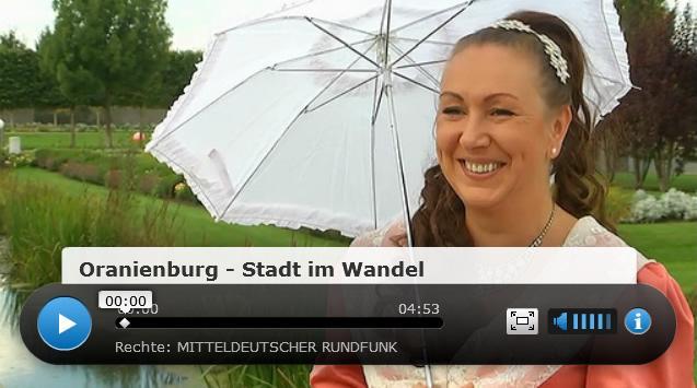 Zum mdr-Video »Oranienburg – Stadt im Wandel«