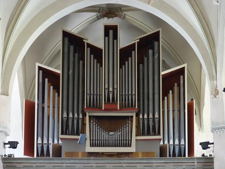 Schuke-Orgel in der Stadtpfarrkirche Beelitz