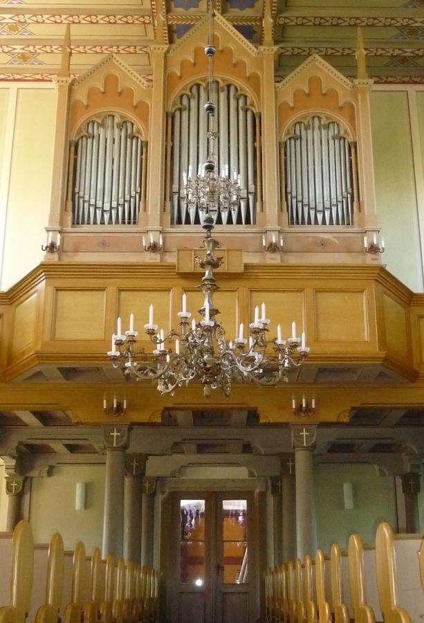 Orgel - Kirche Voigtsdorf / Foto: Jan Gernegroß