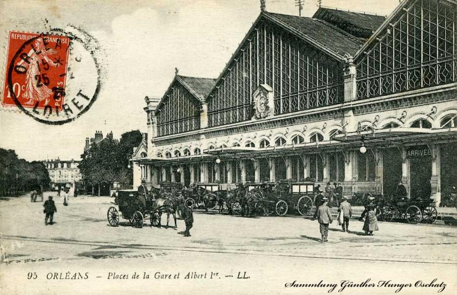 Orleans-Place de la Gare et Albert I.