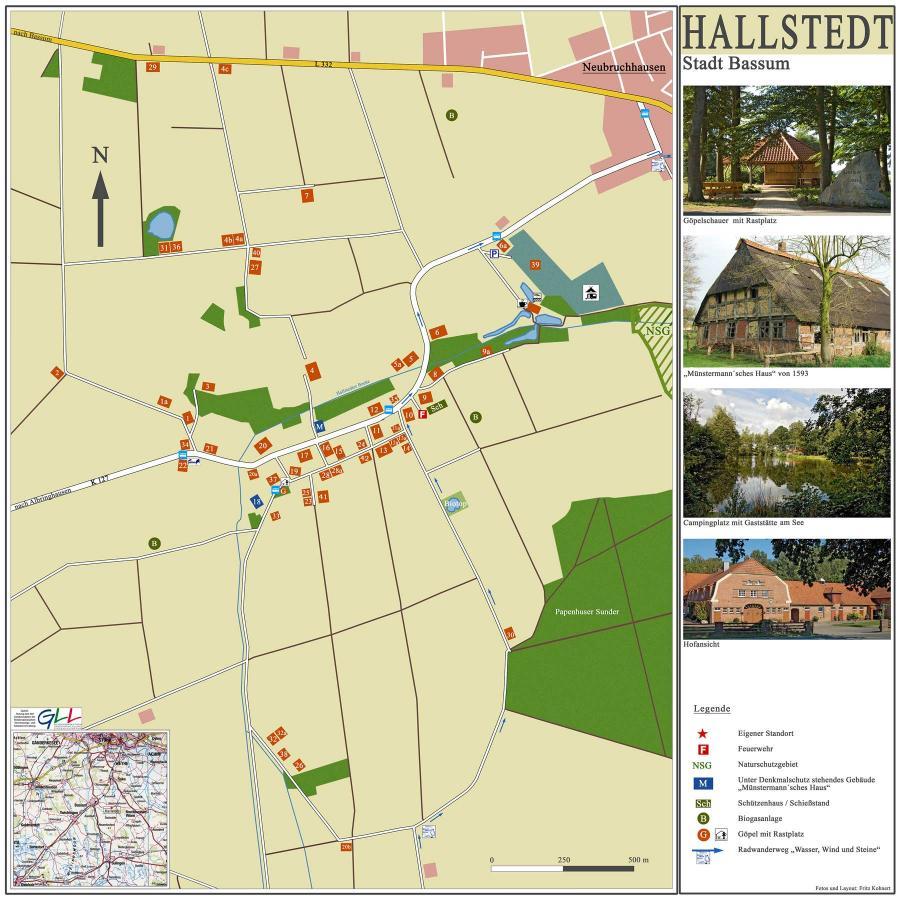 Ortsplan Hallstedt 2017