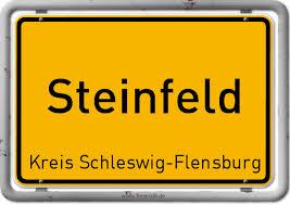 Ortsschild Steinfeld